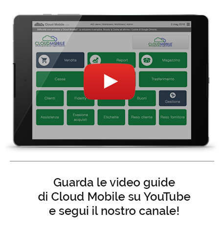 Canale YouTube Video Guide Cloud Mobile