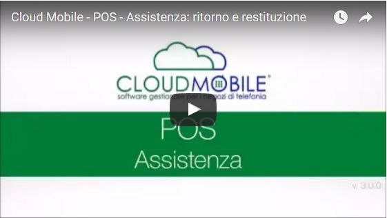 Cloud Mobile - Pos Assistenza